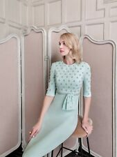 John Charles 26488 Mother of the Bride Mint Wedding Sequined Dress UK 10 38