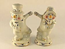 Royal Limited Holly Holiday Salt Pepper Shaker Snowman 23