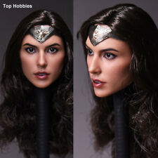 "1:6 Wonder Woman Head Sculpt Accessory F 12"" ZY Toys Phicen Action Figure"