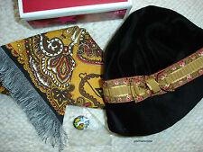 American Girl REBECCA MEET ACCESSORY SET, Hat, Shawl ,Rabbit Pin CLASSIC~NEW