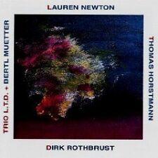 Lauren Newton / Thomas Horstmann / Dirk Rothbrust Trio + Bertl Muetter CD 1996