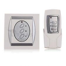 Interrupteur Digital Sans Fil Télécommande 3 Voies Contrôle Lampe