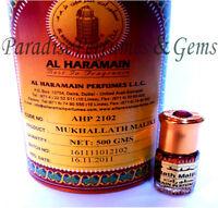 New *MUKHALLAT MALIKI* By AL HARAMAIN 3ml Perfume Oil Itr Attar - HIGH QUALITY