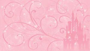 Disney Princess Scroll Castle Wall Mural New XL Prepasted Wallpaper 10.5' x 6'
