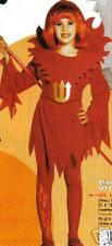 COSTUME DEGUISEMENT ENFANT DIABLESSE 11/13 ANS VAMPIRE robe rouge avec col