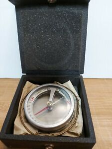 Vintage W.S. Darley & Co. Needle Point Surveying Compass Rare Great Shape