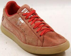 PUMA Clyde Canada 50 (Money) Coral/Silver Men's Shoes Sz 8.5 M
