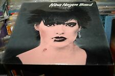 NINA HAGEN BAND ST 12 ' JAPAN 1978  EX VINYL LP  A1 MATRIX  IMPORT  SIOUXIE