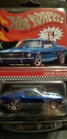 Hot Wheels Collectors 2020 Red Line Club RLC Exclusive CUSTOM MUSTANG Blue #6793