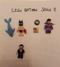 LOTTO MIX 3 MINIFIGURE LEGO BATMAN SERIE 2 - Spedizioni Comprese