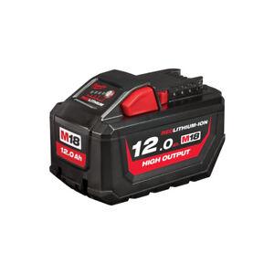 MILWAUKEE   M18 HB12 Batteria 12.0Ah Red Lithium 18V Altissime Prestazioni 12Ah