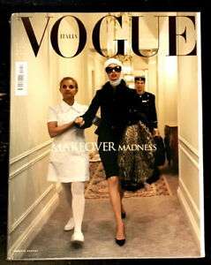 VOGUE Italia Magazine July 2005 LINDA EVANGELISTA Naomi Campbell ELISE CROMBEZ