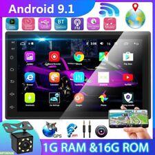 New listing 2Din 7'' Andriod 9.1 Gps Navi Car Stereo Radio Mp5 Bt Wifi Fm Mp5 Player+ Camera
