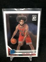 2019-20 Panini Donruss Optic Coby White RC Bulls Rated Rookie #180 Rookie AG47