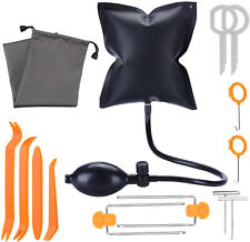 Car Air Inflatable Pump Wedge Bag Airbag Shim Car Door Window Pry Hand Tool Kit