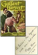 GADDIS, Peggy DERN / Gallant Harvest Signed 1st Edition 1943