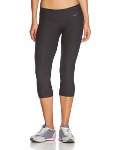 NEW! NIKE Womens LEGEND 2.0 Tight Fit Low Rise Capri/Tights-Black [M] 577823-010