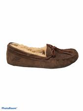 UGG Women's Dakota Brown 5612 Slip On House Shoes Size 7 Comfort Shoes Sheepskin