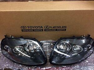 97-02 Toyota Supra Turbo JZA80 Headlight Set 81111-1B241 81151-1B241 RARE