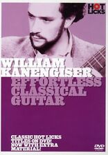 William Kanengiser: Effortless Classical Guitar (2006, DVD NIEUW)