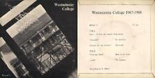 DISCO 45 Giri  WESTMINSTER COLLEGE 1967 - 1968