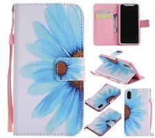 Sunflower Fashion Women 3D Flip Card Wallet Bracket Case Cover For Various Phone