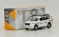 TINY 1:64 Toyota Prado TVB News  Alloy car model  Original package
