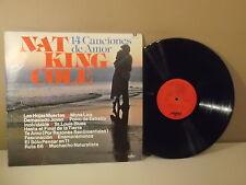 """Nat King Cole """" 14 Canciones de amor """" Las Hojas muertas """" LP VG+"""