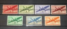 US AIRMAIL COMPLETE  SET OF 7 SCOT C25-C31 MNH