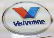 "Cool Valvoline oil racing car tool box refrigerator 6"" X 7"" vinyl decal sticker"