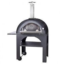 Pizzaofen Pulcinella 80x60 - Mobiler Holzbackofen für Garten u. Terrasse - Italy
