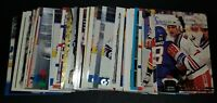 1990-2003 HOCKEY COLLECTION ADAM GRAVES NEW YORK RANGERS LOT OF 49 CARDS