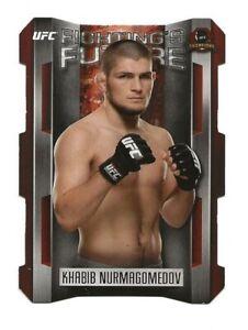 2015 Topps UFC KHABIB NURMAGOMEDOV Fighting Future Card -  UFC