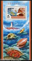 SOLOMON ISLANDS 2015 SEASHELLS  SOUVENIR SHEET   MINT NH
