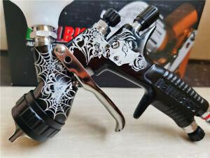DeVilbiss GTi PRO LITE TE20 Gravity Spray Gun *BLACK* Base Coat 560ml 1.3mm Tip