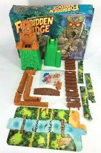 Forbidden Bridge Motorized Adventure Board Game Milton Bradley 1992 - Parts Lot