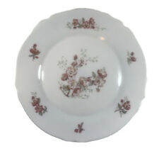 """Arcopal France 10"""" Pink cherry Blossoms Dinner Plate, vintage"""