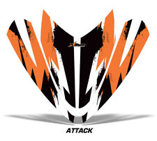 Sled Hood Graphics Kit Decal Sticker Wrap For Arctic Cat M M7 M8 Snowmobile AT O