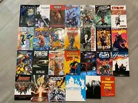 Graphic Novel TPB 27 Book Lot DC Marvel Comics Image Batman Spider-Man Avengers