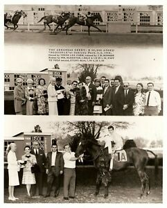 "1968 - Arkansas Derby Winner - NODOUBLE - 3 Photo Composite - 8"" x 10"""