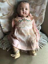 Vintage Quintuplet Dionne Alexander Doll Original Clothes And Shoes