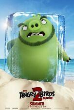 The Angry Birds Movie 2 Movie Poster (24x36) - Bill Hader, Jason Sudeikis v3