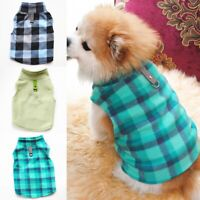 Small Pet Dog Fleece Harness Vest Puppy Warm Sweater Coat T Shirt Jacket Apparel