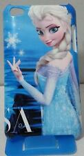 For iPod Touch 4th Generation Full Print Back Hard Case Frozen Snow Queen Elsa