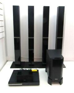 Pioneer Speaker System DVD Receiver Player Large Surround Sound Speakers Sub