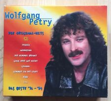 CD Set 3 CD-Wolfgang Petry - Die original Hits - Das Beste '76 - '84 - 42 Tracks