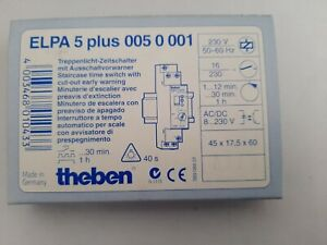 1 x theben ELPA5 plus Treppenlichtzeitschalter