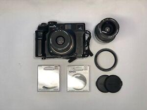 Mamiya 7 II schwarz mit 80mm f4 und 65mm f4