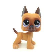 Pet Shop toys LPS #244 Brown Great Dane Dog