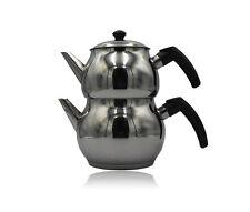 Teekanne Teekessel Kochset Teekocher Türkisch Caydanlik Induktion geeignet